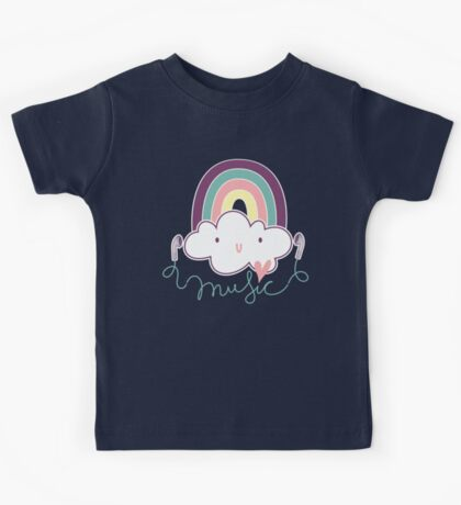 I Love Music Doodle Kids Clothes