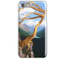 In Freedom's Breath - Abstract Personified Tree iPhone Case/Skin