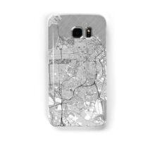 San Francisco Map Line Samsung Galaxy Case/Skin