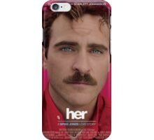 Her film movie scarlett Johansson summer love iPhone Case/Skin