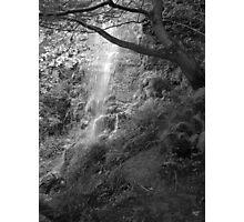 Goathland Mallyan Spout Waterfall B&W Photographic Print