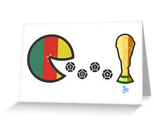 Cameroon World Cup 2014 Greeting Card