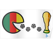 Cameroon World Cup 2014 Poster