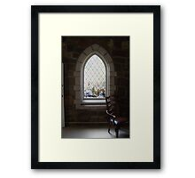 Chapel Window Framed Print