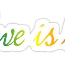 #loveislove Sticker