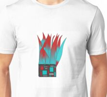 Flaming Square Unisex T-Shirt