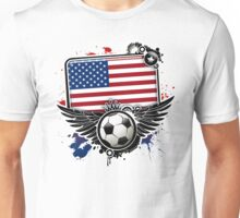 Soccer Fan United States Unisex T-Shirt