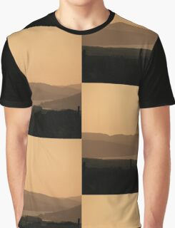 Mellow Evening over Donegal Ireland Graphic T-Shirt