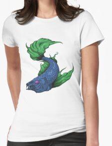 Koi Fish of Doom Womens Fitted T-Shirt