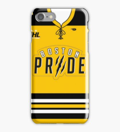 Boston Pride Jersey iPhone Case/Skin