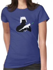 Admiral Spaceship Womens Fitted T-Shirt