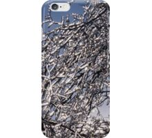 Sparkling Icy Tree - Mother Nature's Decoration iPhone Case/Skin