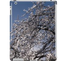 Sparkling Icy Tree - Mother Nature's Decoration iPad Case/Skin