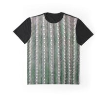 CACTUS NEEDLES PATTERN, closeup green succulent Graphic T-Shirt
