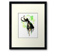 The Bastard of Asgard. Framed Print