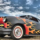 Flat black and flames  by GWGantt