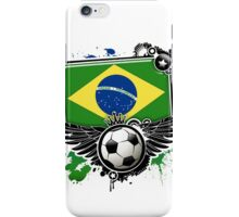 Soccer Fan Brazil iPhone Case/Skin