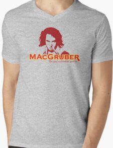 MacGruber Mens V-Neck T-Shirt