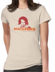 MacGruber Womens Fitted T-Shirt