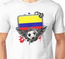 Soccer Fan Colombia Unisex T-Shirt