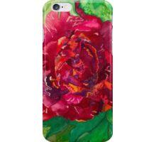 Passionate Peony iPhone Case/Skin