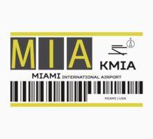 Destination Miami Airport One Piece - Short Sleeve