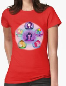 My Little Pony - Elements of Harmony Womens Fitted T-Shirt