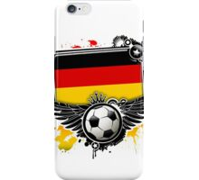 Soccer Fan Germany iPhone Case/Skin