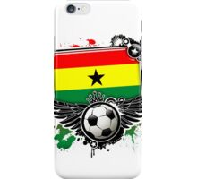 Soccer Fan Ghana iPhone Case/Skin