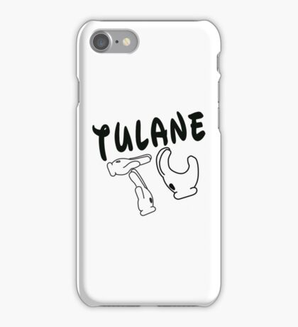 Mickey Mouse Hands Tulane iPhone Case/Skin
