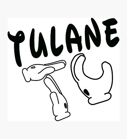 Mickey Mouse Hands Tulane Photographic Print