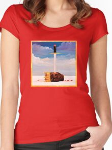 My Beautiful Dark Twisted Fantasy Women's Fitted Scoop T-Shirt
