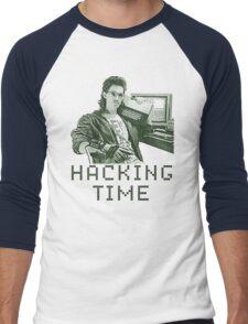Hacking time Men's Baseball ¾ T-Shirt