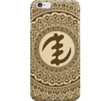 Gye Nyame - Brown iPhone Case/Skin