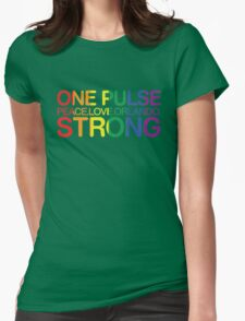 Peace, Love, Orlando Womens Fitted T-Shirt