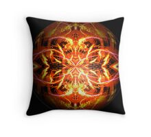 Fireworks in abstract Throw Pillow