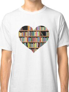 Books heart Classic T-Shirt