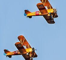 Pre-WWII Biplanes by heatherfriedman