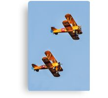 Pre-WWII Biplanes Canvas Print