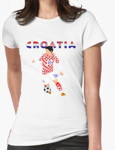 CROATIA : EURO Womens Fitted T-Shirt