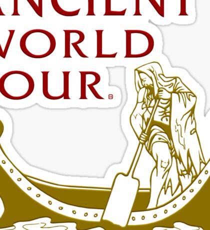 An Ancient World Tour  Sticker