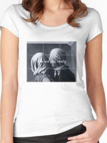 The lovers Women's Fitted Scoop T-Shirt