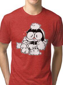 Good Cop Loves Puppy Breath Tri-blend T-Shirt