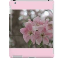 Delicate Pink Blossoms iPad Case/Skin