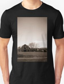 A Quiet Stop on the Road Unisex T-Shirt