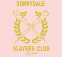 Sunnydale Slayers Club Baby Tee