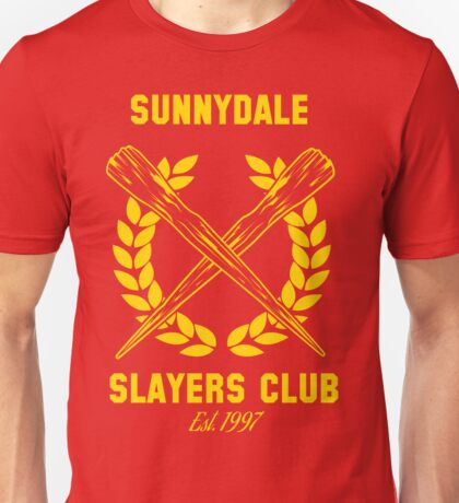 Sunnydale Slayers Club Unisex T-Shirt