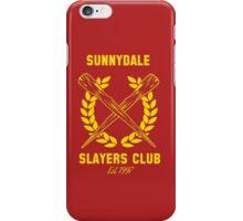 Sunnydale Slayers Club iPhone Case/Skin