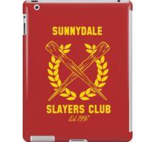 Sunnydale Slayers Club iPad Case/Skin
