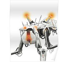 Portal Inspired Robot Poster